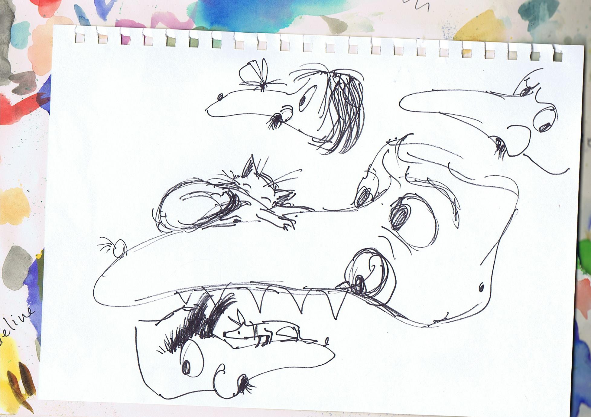 Mask sketch 3