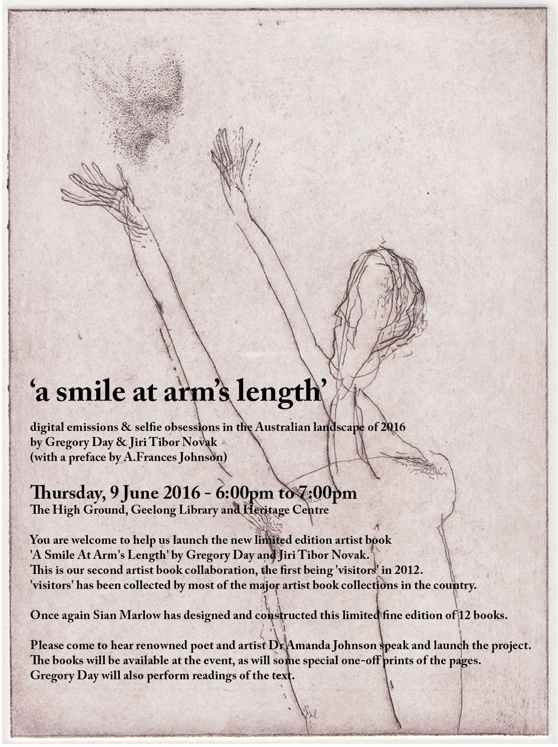 a smile at arm's length